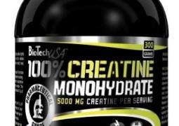 Creatine Monohydrat - Kraftaufbau und Muskelmasse