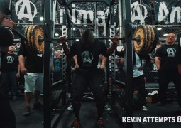 Weltrekord Kniebeugen beim Powerlifting