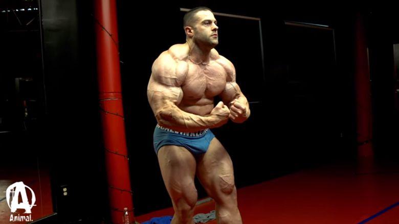 Brustpose Evan Centopani